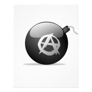Papel Timbrado Bomba da anarquia