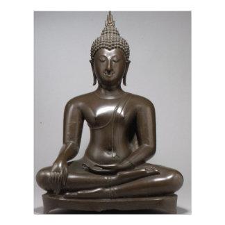 Papel Timbrado Buddha assentado - século XV