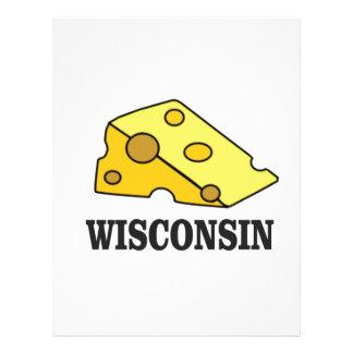 Papel Timbrado Cabeça do queijo de Wisconsin