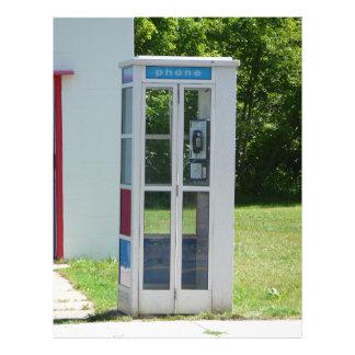 Papel Timbrado Cabine de telefone