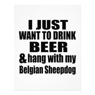 Papel Timbrado Cair com meu Sheepdog belga