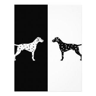 Papel Timbrado Cão Dalmatian