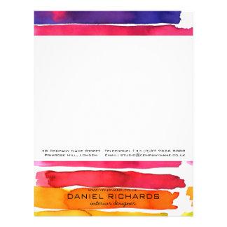 Papel Timbrado Cartão de visita do designer de interiores da