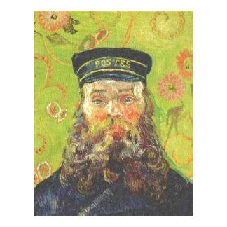 Papel Timbrado Carteiro Joseph Roulin - Vincent van Gogh do