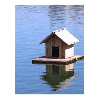 Papel Timbrado Casa do lago