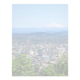 Papel Timbrado Cidade e Mountain View de Portland, Oregon, EUA
