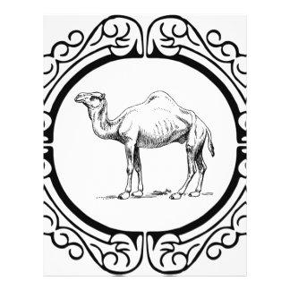 Papel Timbrado círculo do camelo