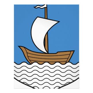 Papel Timbrado Coat_of_Arms_of_Dzisna, _Belarus