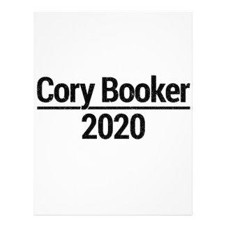 Papel Timbrado Cory Booker 2020