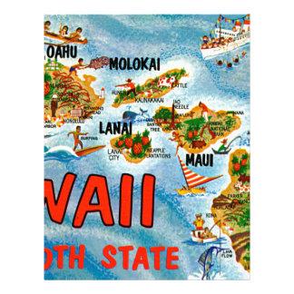Papel Timbrado Cumprimentos de Havaí