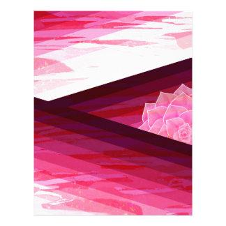 Papel Timbrado Design contemporâneo sereno da flor