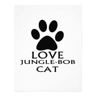 PAPEL TIMBRADO DESIGN DO CAT DO AMOR JUNGLE-BOB