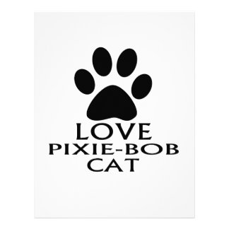 PAPEL TIMBRADO DESIGN DO CAT DO AMOR PIXIE-BOB