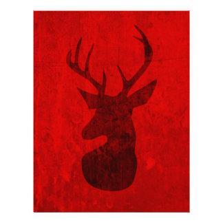 Papel Timbrado Design do veado vermelho