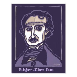 Papel Timbrado Edgar Allan Poe por FacePrints