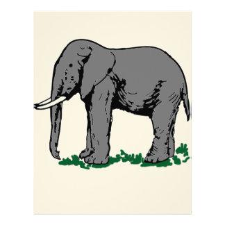 Papel Timbrado Elefante