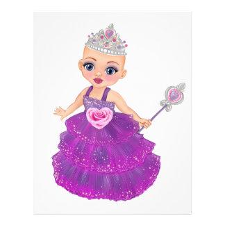 Papel Timbrado Ella a princesa Enchanted Que Ser Você?
