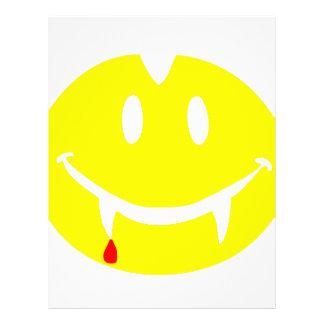 Papel Timbrado emoji dracula do vampiro