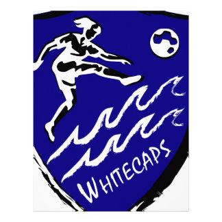 Papel Timbrado Equipe de futebol das mulheres de Whitecaps
