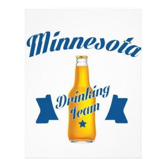 Papel Timbrado Equipe do bebendo de Minnesota