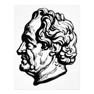 Papel Timbrado Escritor alemão Goethe