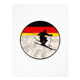 Papel Timbrado Esqui Alemanha
