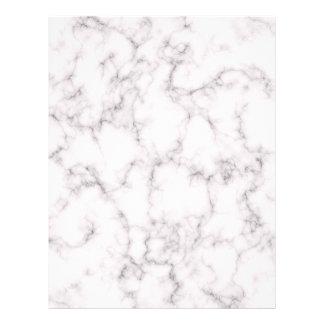 Papel Timbrado Estilo de mármore elegante