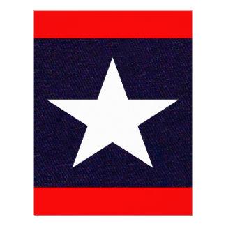 Papel Timbrado Estrela solitária de Texas