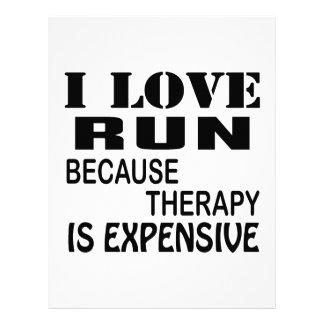 Papel Timbrado Eu amo o funcionamento porque a terapia é cara