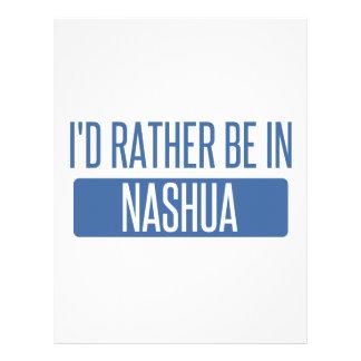 Papel Timbrado Eu preferencialmente estaria em Nashua