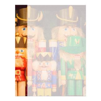 Papel Timbrado Exército de Nutcrackers do Natal