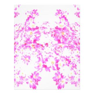 Papel Timbrado Flor cor-de-rosa do Dogwood
