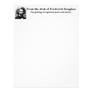 Papel Timbrado Frederick Douglass reconhecido cada vez mais
