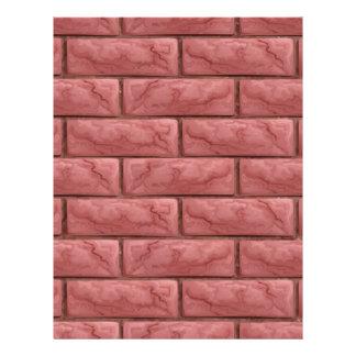 Papel Timbrado Fundo sem emenda da textura da parede de tijolo