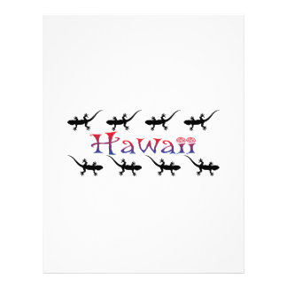 Papel Timbrado gecos do hawai