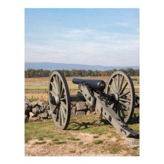 Papel Timbrado Gettysburg: Uma ideia da carga de Pickett