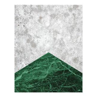 Papel Timbrado Granito concreto #412 do verde da seta