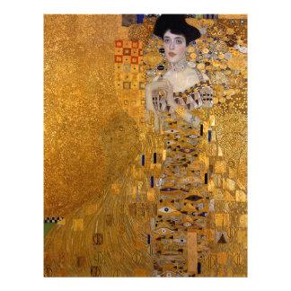 Papel Timbrado Gustavo Klimt - Adele Bloch-Bauer mim pintura