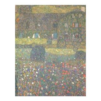 Papel Timbrado Gustavo Klimt - casa de campo pela arte de