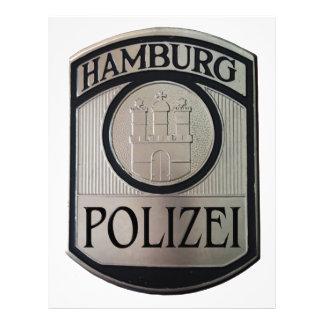 Papel Timbrado Hamburgo Polizei