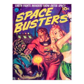 Papel Timbrado Imbeceis do espaço