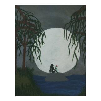 Papel Timbrado Impressão da arte da solidão