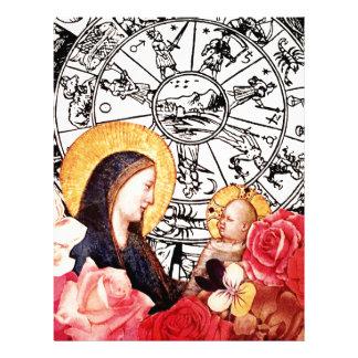Papel Timbrado madonna e criança