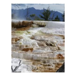 Papel Timbrado Mammoth Hot Springs