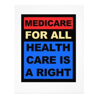 Papel Timbrado Medicare para tudo - os cuidados médicos são um