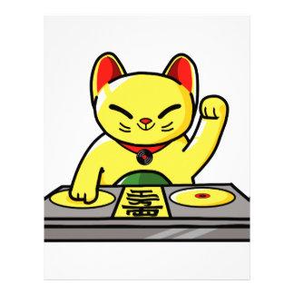 Papel Timbrado Meow-sician