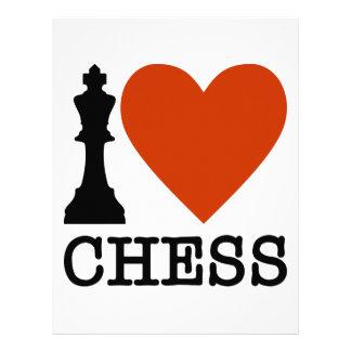 Papel Timbrado Mim xadrez do coração
