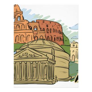Papel Timbrado Não foi construído em um dia (Roma)