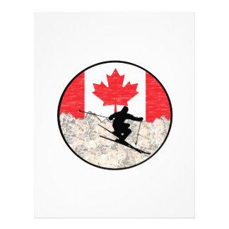 Papel Timbrado Oh Canadá