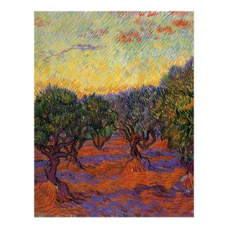 Papel Timbrado Oliveiras - Vincent van Gogh